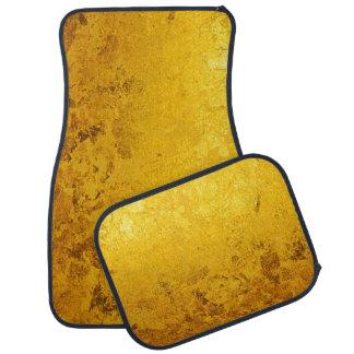 PURE GOLD pattern / gold leaf Car Floor Mat