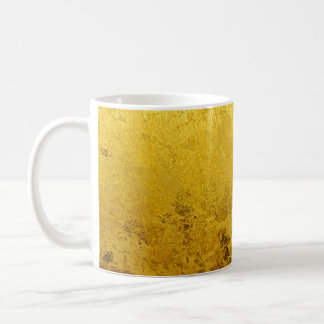 PURE GOLD pattern / gold leaf Coffee Mug