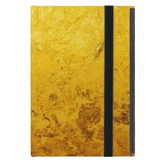 PURE GOLD pattern / gold leaf iPad Mini Case