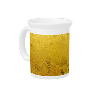 PURE GOLD pattern / gold leaf Pitcher