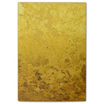 PURE GOLD pattern / gold leaf Post-it Notes