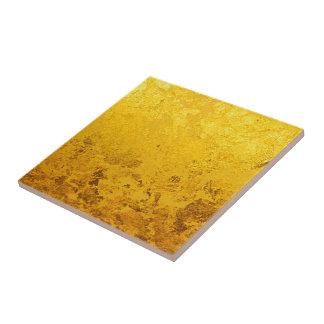 PURE GOLD pattern / gold leaf Tile