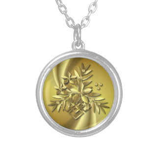 Pure Gold Silver Plated Necklace