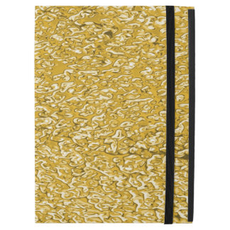 """PURE GOLD Splatter Pattern + your text / photo iPad Pro 12.9"""" Case"""
