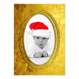 Pure Golden Photo Frame II + your photo & text Card