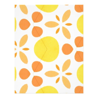 Pure Happiness Yellow Retro Style Pillow Letterhead