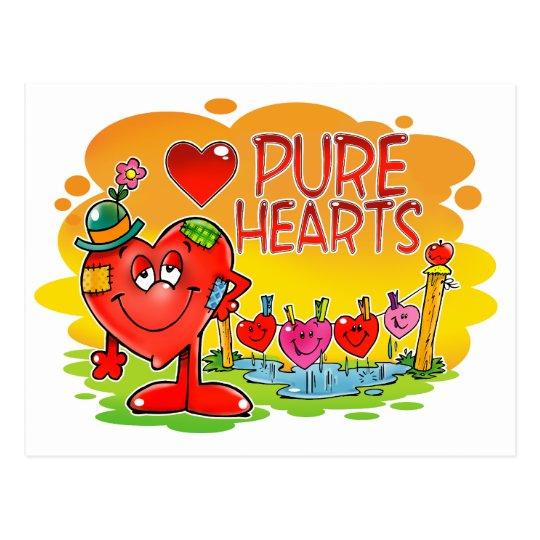 Pure Hearts Postcard