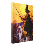 """PURE IMAGINATION"" COLLECTION VINTAGE LEAFY WITCH GALLERY WRAPPED CANVAS"