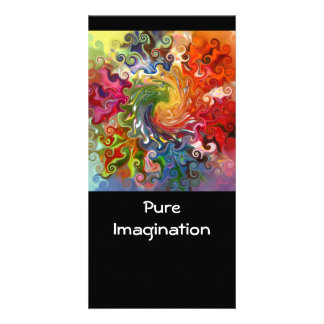 Pure Imagination Designed Book Mark Card