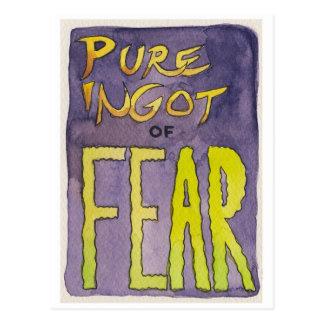 Pure Ingot of Fear Postcard