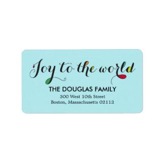Pure Joy Address Labels Address Label
