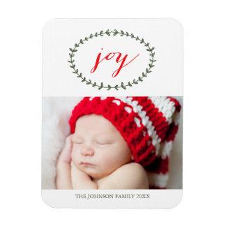 Pure Joy Holiday Photo Magnet