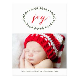 Pure Joy Holiday Postcard