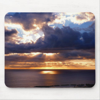 Pure light mouse pad