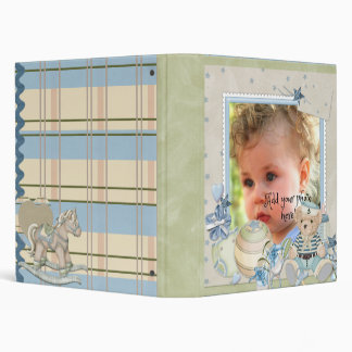 Pure Love Baby Boy Notebook Vinyl Binder