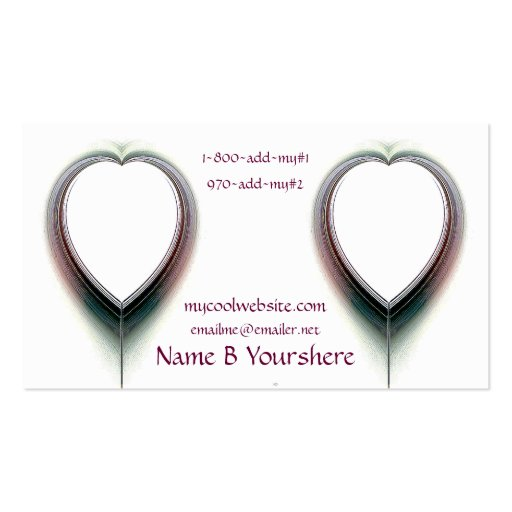 Pure Love Business Card