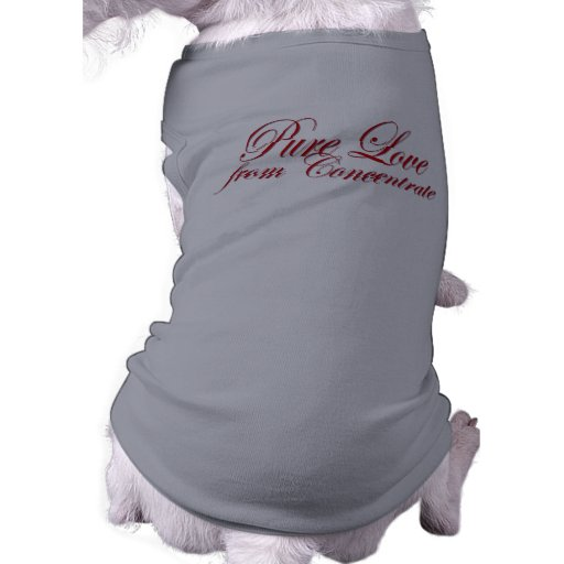 Pure Love from Concentrate (Dawg) Pet Tee