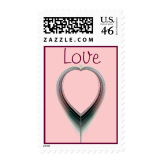 Pure Love Postage Stamps