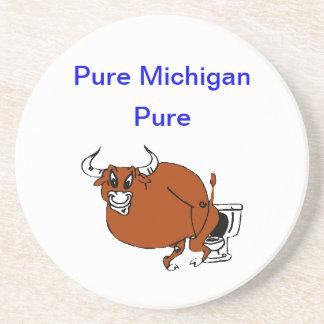 Pure Michigan Beverage Coaster