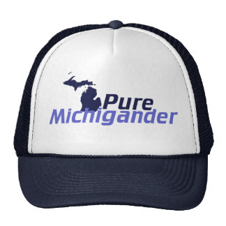Pure Michigander Trucker Hat