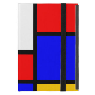 Pure Mondrian style iPad Mini Cover