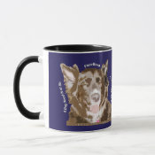 Pure of Heart Rescue Dog Quote Coffee Mug