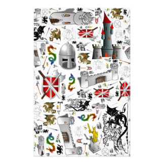 Puré-para arriba medieval  papeleria de diseño