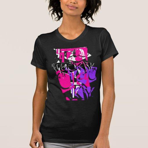 Puré (para mujer) camiseta