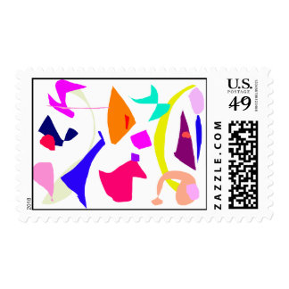 Pure Particles Adolescence Genuine Crystal Postage Stamp