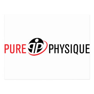 Pure Physique Gear Postcard