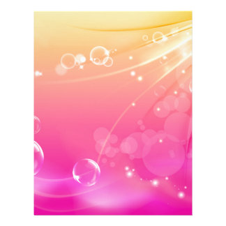 Pure pink abstract background glowing letterhead