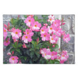 PURE PINK FLOWERS SHOW TEMPLATE UTILE PLACE MATS