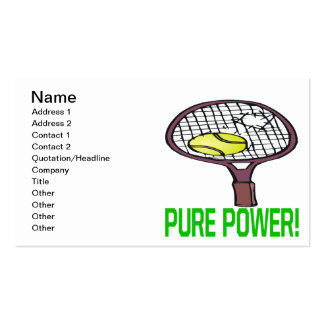 Pure Power Business Card