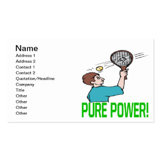 Pure Power Business Card Templates