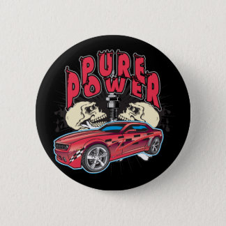 Pure Power Camaro Pinback Button