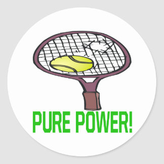 Pure Power Classic Round Sticker