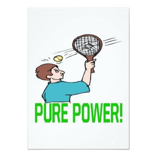 Pure Power 5x7 Paper Invitation Card