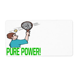 Pure Power Label
