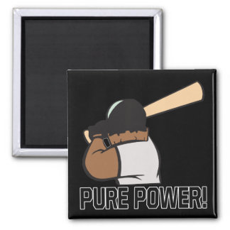 Pure Power 2 Inch Square Magnet