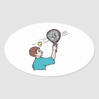 Pure Power Oval Sticker