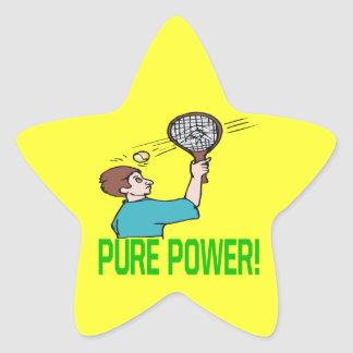 Pure Power Star Sticker