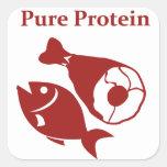 Pure Protein day sticker