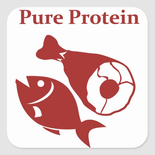 Pure Protein day sticker