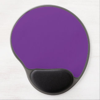 Pure Purple Personalized Trend Color Background Gel Mouse Pad