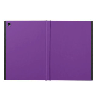 Pure Purple Personalized Trend Color Background iPad Air Covers