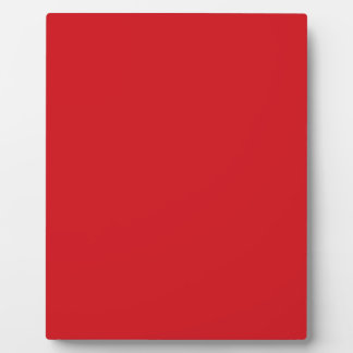 Pure Red Photo Plaque