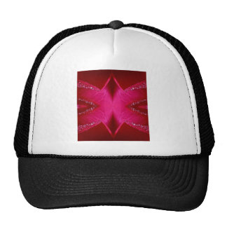Pure Rose Petal Art - Blood Red n PinkRose Trucker Hat