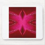 Pure Rose Petal Art - Blood Red n PinkRose Mousepad