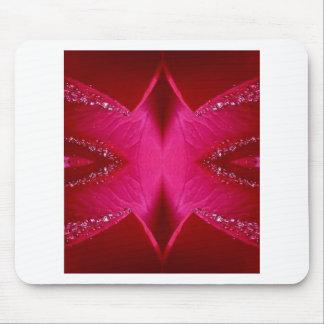 Pure Rose Petal Art - Blood Red n PinkRose Mouse Pad