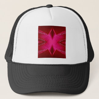 Pure Rose Petal Art - Blood Red n PinkRose Trucker Hat